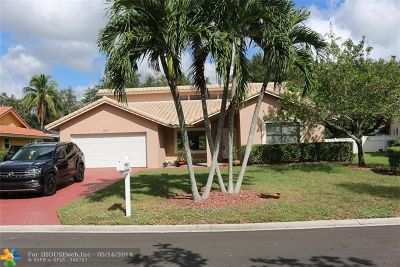 Coral Springs Rental For Rent: 8617 NW 55th Pl
