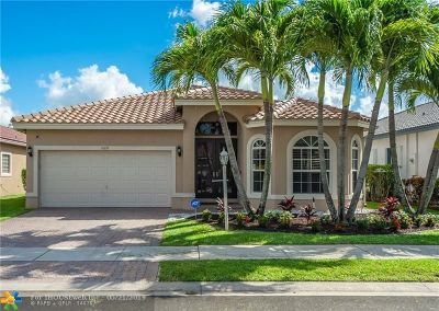 Coral Springs Single Family Home For Sale: 11619 NW 48th St