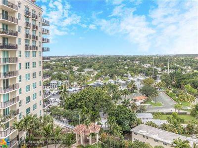 Fort Lauderdale Condo/Townhouse For Sale: 610 W Las Olas Blvd #1411