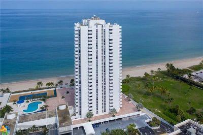 Pompano Beach Condo/Townhouse For Sale: 1370 S Ocean Blvd #1406