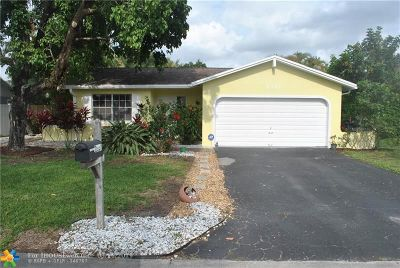 Coral Springs Single Family Home For Sale: 2353 NW 98th Ter