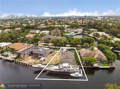 Fort Lauderdale Residential Lots & Land For Sale: 9 Compass Isle
