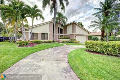 Coral Springs Single Family Home For Sale: 180 NW 104th Ter