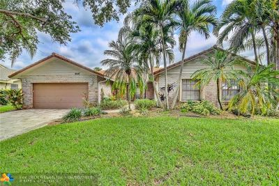 Coral Springs Single Family Home For Sale: 9047 NW 51st Pl