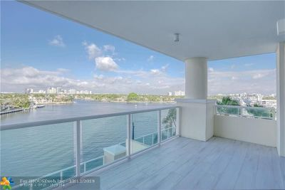 Fort Lauderdale Condo/Townhouse For Sale: 3055 Harbor Dr #702