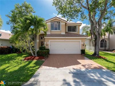 Pembroke Pines Single Family Home For Sale: 571 SW 182nd Way