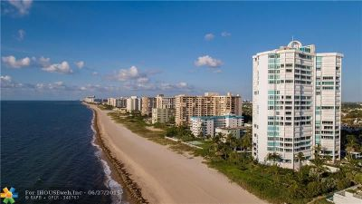 Lauderdale By The Sea Condo/Townhouse For Sale: 1700 S Ocean Blvd #PHB/D