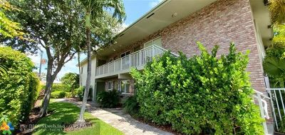 Fort Lauderdale Condo/Townhouse For Sale: 1353 Holly Heights Dr #2