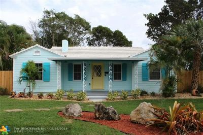 Delray Beach Single Family Home For Sale: 345 S Swinton Ave
