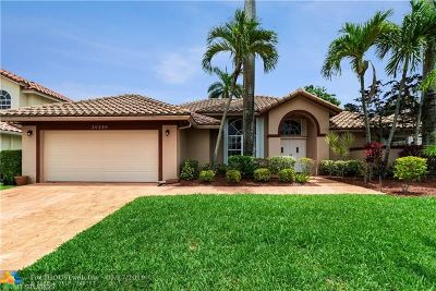 Boca Raton Single Family Home Backup Contract-Call LA: 20280 Hacienda Ct