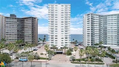 Fort Lauderdale Condo/Townhouse For Sale: 3750 N Galt Ocean Dr #810