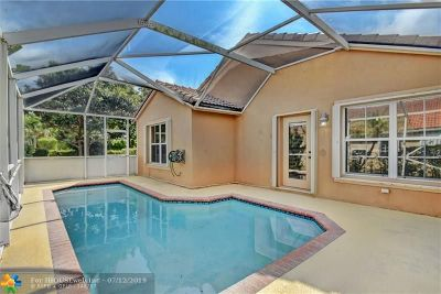 Coral Springs Single Family Home For Sale: 5133 NW 122nd Ave