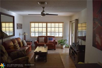 Hollywood Condo/Townhouse For Sale: 3700 Harrison St #11A