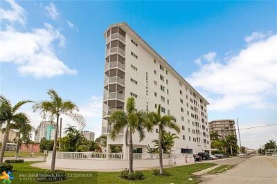 Fort Lauderdale Condo/Townhouse For Sale: 720 Bayshore Dr #302