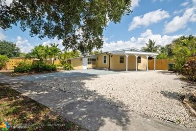 Fort Lauderdale Single Family Home For Sale: 1101 NW 14th Ct