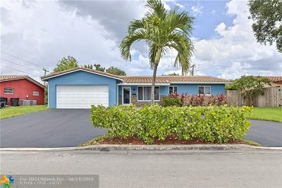 Fort Lauderdale Single Family Home For Sale: 4870 NE 18th Ave