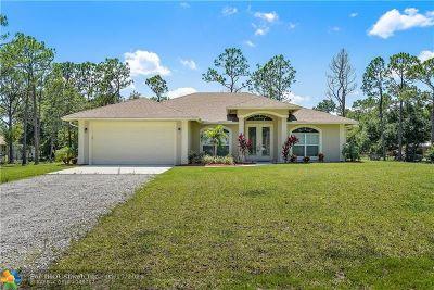 Jupiter Single Family Home For Sale: 17331 131st Ter