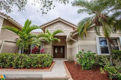 Pembroke Pines Single Family Home For Sale: 1490 NW 161st Ave