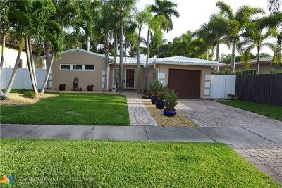 Fort Lauderdale Single Family Home For Sale: 1906 NE 7th Pl