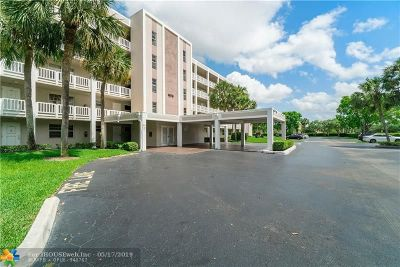 Coral Springs Condo/Townhouse For Sale: 1075 Riverside Dr #508