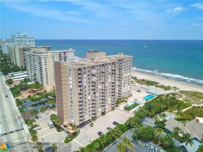 Lauderdale By The Sea Condo/Townhouse For Sale: 2000 S Ocean Blvd #14J