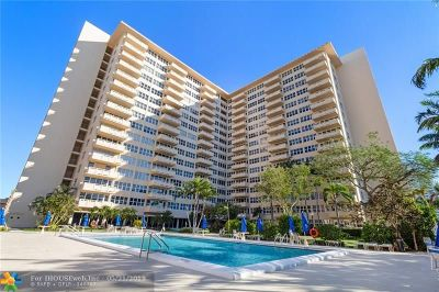 Fort Lauderdale Condo/Townhouse For Sale: 3333 NE 34th St #610