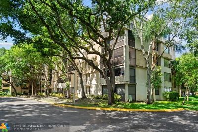 Plantation Condo/Townhouse For Sale: 6800 Cypress Rd #415