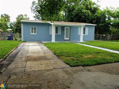 Fort Lauderdale Single Family Home For Sale: 128 SW 22nd Ter