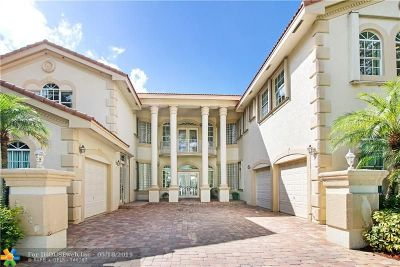 Coral Springs FL Single Family Home For Sale: $850,000