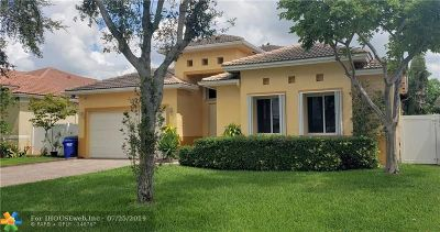 Pembroke Pines Single Family Home For Sale: 7951 NW 13th St