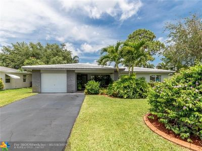 Pompano Beach Single Family Home For Sale: 111 SE 8th St