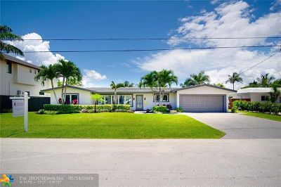 Fort Lauderdale Single Family Home For Sale: 2816 NE 26th St