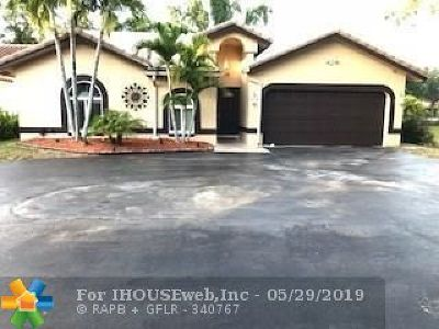 Coral Springs Single Family Home For Sale: 2300 NW 97th Ln
