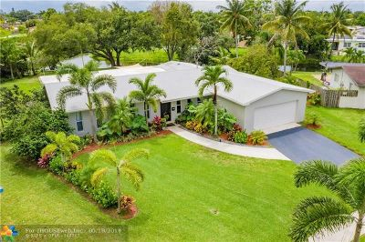 Pembroke Pines Single Family Home For Sale: 8690 NW 17th Ct