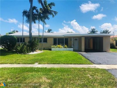 Pompano Beach FL Single Family Home For Sale: $499,000