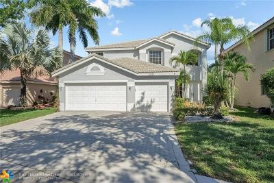 Coral Springs Single Family Home For Sale: 5339 NW 120th Ave