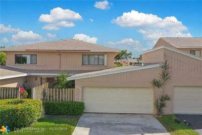 Davie FL Condo/Townhouse For Sale: $340,000