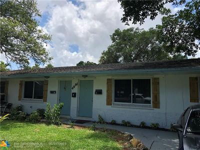 Fort Lauderdale Multi Family Home For Sale: 4991 SW 27th Ave