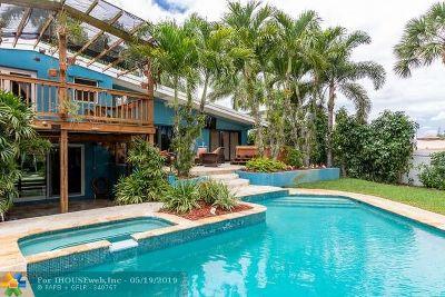 Fort Lauderdale Single Family Home For Sale: 2442 Okeechobee Ln