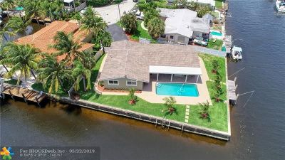 Pompano Beach Single Family Home For Sale: 1350 SE 3rd Way
