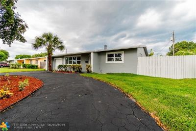 Pompano Beach FL Single Family Home For Sale: $287,900