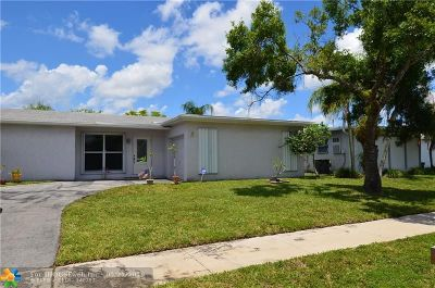 Sunrise Single Family Home For Sale: 11451 NW 46th Pl