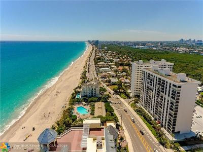 Fort Lauderdale Condo/Townhouse For Sale: 1905 N Ocean Blvd #7-D