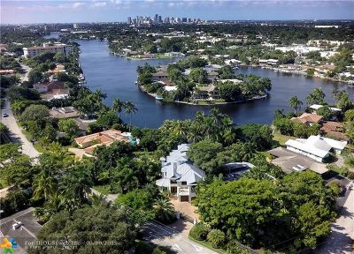Fort Lauderdale Single Family Home For Sale: 2415 Middle River Dr