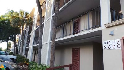 Lauderdale Lakes Condo/Townhouse For Sale: 2600 NW 49th Ave #314