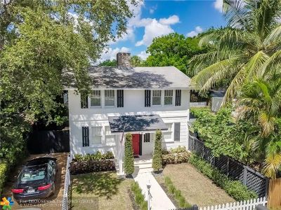 Fort Lauderdale Single Family Home For Sale: 1017 SW 4th Street