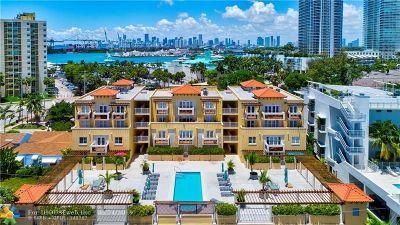 Miami Beach Condo/Townhouse For Sale: 227 Michigan Av #202