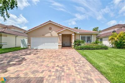Plantation Single Family Home Backup Contract-Call LA: 661 NW 133rd Way