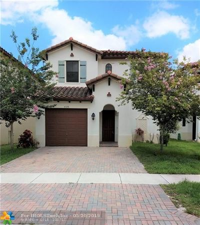 Miramar Single Family Home For Sale: 3573 SW 92nd Ave