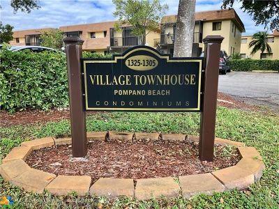 Pompano Beach Condo/Townhouse Backup Contract-Call LA: 1325 S Flagler Ave #103
